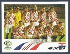 PANINI FIFA WORLD CUP-GERMANY 2006- #397-CROATIA TEAM PHOTO