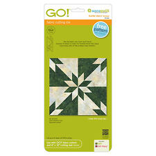 """AccuQuilt GO! & Baby Hunter Star-6"""" Finished Fabric Cutting Die 55116 Quilting"""