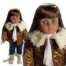"Molly P Originals Dolls  Dani 18"" Fashion Doll Vinyl & Cloth"