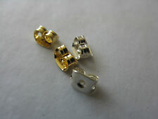 Butterfly scroll spare stud earring backs Large silver/Gold Plated or mixed