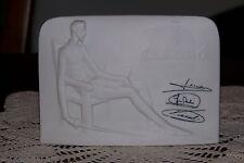 Lladro Collectors Society Plaque 1985 - Signed