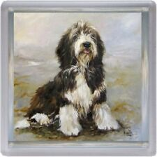 Bearded Collie Dog Coaster No 6 SH by Starprint