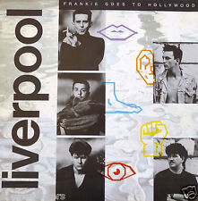 """Frankie Goes To Hollywood """"Liverpool"""" U.S. Promo Poster - Dance, New Wave Music"""