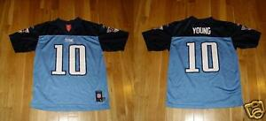 Reebok Players VINCE YOUNG TENNESSEE TITANS #10 Youth NFL Team REPLICA JERSEY Lg