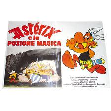ASTERIX - E LA POZIONE MAGICA 1987 - 43 x 62 cm - FOTOBUSTA AFFICHE LOCANDINA