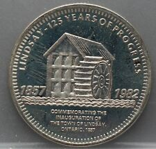 Canada - 1 one Dollar 1982 - 125th Anniversary of the inauguration town Lindsay