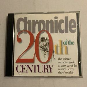 Chronicles Of The 20th Century PC CDROM 1996 Win 95