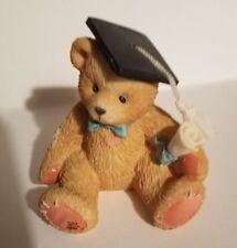 """Teddy Bear Figurine - Lian Priscilla Hillman appx. 3.5""""T x 2""""W x 2""""L Vg 127949"""