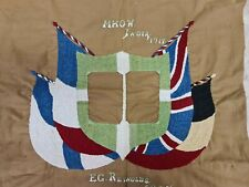 More details for evan g reynolds south wales borderers mhow india 1917 ww1 fabric