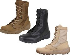 Lightweight Tactical Boots V-Max Leather All Purpose Military Sneaker High Boot