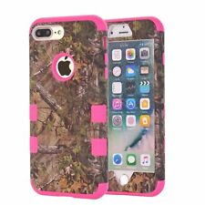 iPhone Series Armor Real Camo Oak Tree Camouflage Cover Dual Protection Case