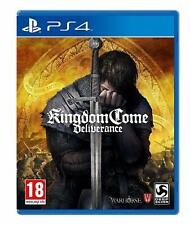 Kingdom Come - Deliverance For PS4 (New & Sealed)