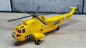 Dinky 724 Sea King Helicopter Code 3 restored RAF Rescue