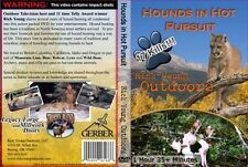 Hounds in Hot Pursuit DVD hunting with dogs bear mt lion bobcat lynx