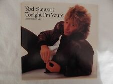 """Rod Stewart """"Tonight I'm Yours"""" PICTURE SLEEVE! BRAND NEW! NICEST COPY ON eBAY!!"""