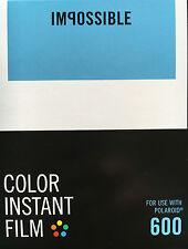 Impossible 600 color film per Polaroid 600 Telecamere Nuovo