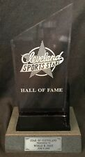 World B. Free Personally Owned 1995 Cleveland Cavaliers Hall of Fame Award w/COA