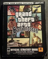 Grand Theft Auto San Andreas Strategy Guide w/ Fold-Out Odd Jobs Map