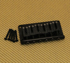 SB-5115-003 Gotoh Japan Black Hardtail Fixed Non-Tremolo 6-string Guitar Bridge