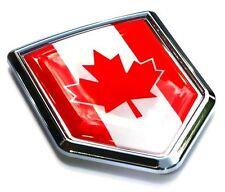 Canada Flag Canadian Emblem Chrome Car Decal Sticker 3D Badge Hood Bumper