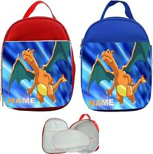 Charizard Pokemon #1 Personalised Childs Lunch Bag
