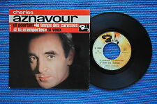 CHARLES AZNAVOUR / EP BARCLAY 70604 / LABEL 1 / BIEM 1963 ( F )