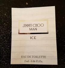 JIMMY CHOO MAN ICE by Jimmy Choo EDT 2 ml 0.06 oz spray Vial Sample Mini