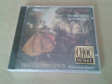 Dvorak, Danses slaves, Duo Crommelynck, piano 4 mains, CD neuf