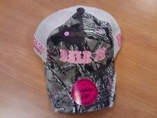 Dale Earnhardt Jr  #88 NASCAR Ball Cap Hat NEW Hendrick Camo & Pink Ladies