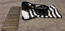 Original Von Zipper VZ Fulton Gloss Black Frames with Grey Lens NO BOX
