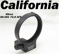 Black Metal Tripod Collar Mount Ring for Nikon AFS 80-200mm f/2.8D F2.8 D ED