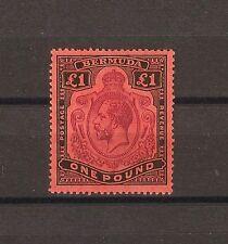 BERMUDA 1918-22 SG 55  Mint Cat £325