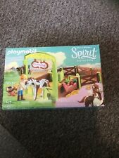 Playmobil 9480 Spirit Abigail & Boomerang with Horse Stall New Sealed Age 4 +