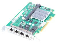 HP NC375i Quad Port Gigabit Server Adapter / Netzwerkkarte PCI-E - 491838-001