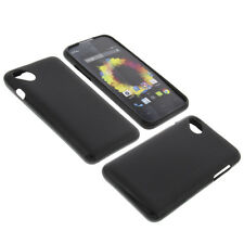 Bag for Wiko Sunset 2 Cell Phone Pocket Cases TPU Rubber Case Black