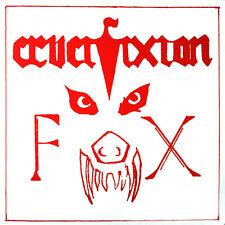 "CRUCIFIXION - The Fox 7"" (NEW*LIM.500*2019 REISSUE, US IMPORT+POSTER*NWOBHM GEM)"