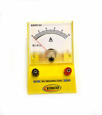 Eisco Labs Analog Ammeter Dc Current Meter 0 10 Amp 02a Resolution