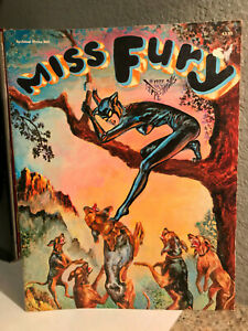 MISS FURY by Tarpe Mills - 1979 Graphic Novel Comic - EX Condition