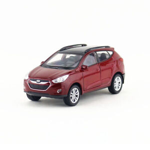 1/36 Scale Hyundai Tucson IX35 SUV Model Car Diecast Kids Gift Toy Pull Back Red