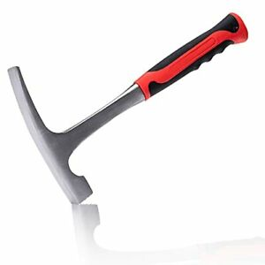13Inch Rock Pick Hammer, Brick Hammer, All Steel Geologist's Hammer Used For