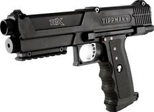 Tippmann TiPX Pistol - Black - Paintball - Mechanical
