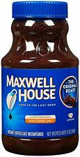 Maxwell House Xlarge 12 oz Original Roast Instant Coffee Lot of 4