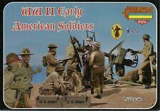 Strelets 1/72 (20mm) WWII US Infantry (Early War)