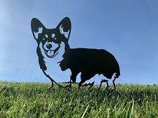 More details for pembroke welsh corgi dog rusty metal animal garden art