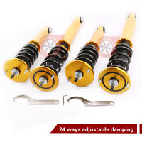 Full Adjustable Damper Coilovers For Nissan Skyline GTS-T GTST RB25DET R33 ER33
