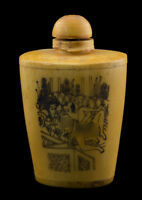 Bottiglia Bottiglietta Boccetta Arte Shunga Erotico Giapponese Vintage 25375 E7