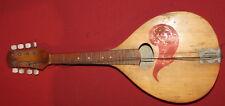Vintage Soviet Russian USSR Wood 8 Strings Mandolin
