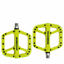 ROCKBROS MTB Widen Nylon Pedals Bicycle Pedal Bearing Mountain Bike Pedals Cyan
