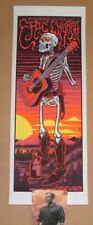 Jim Mazza Eric Church Gilford Concert Poster Print Signed Numbered Night 2 2017