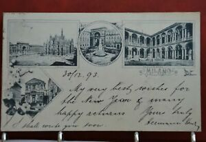 OLD POSTCARD FOR SALE 1898 for Collection